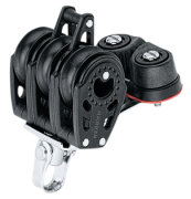 Harken trippelblok, Carbo Air 29 mm.