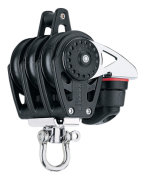 Harken trippelblok, Carbo Air 40 mm.