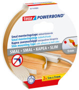 Monteringstape Powerbond SLIM 9 mm