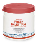 Fresh toilet tank, 125 tabletter