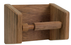 Holder toalettrull, teak